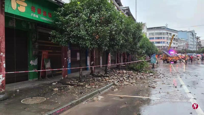 四川泸县地震已致三死60人受伤